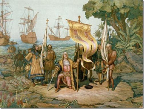 Columbus-Taking-Possession